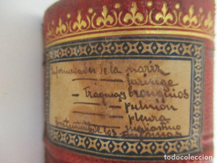 Libros antiguos: Tratado de Terapéutica Aplicada - Alberto Robin - José Espasa Editor - 8 Tomos - Completa - Año 1886 - Foto 52 - 206259152