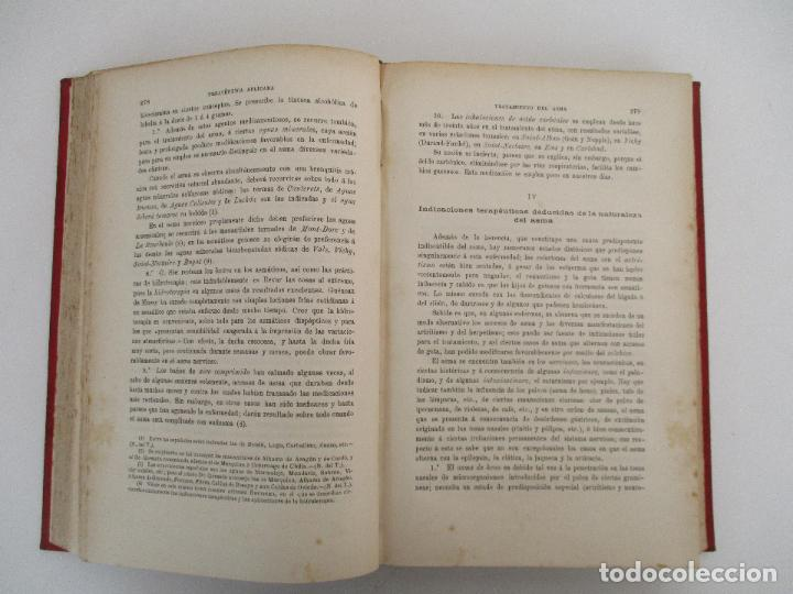 Libros antiguos: Tratado de Terapéutica Aplicada - Alberto Robin - José Espasa Editor - 8 Tomos - Completa - Año 1886 - Foto 59 - 206259152