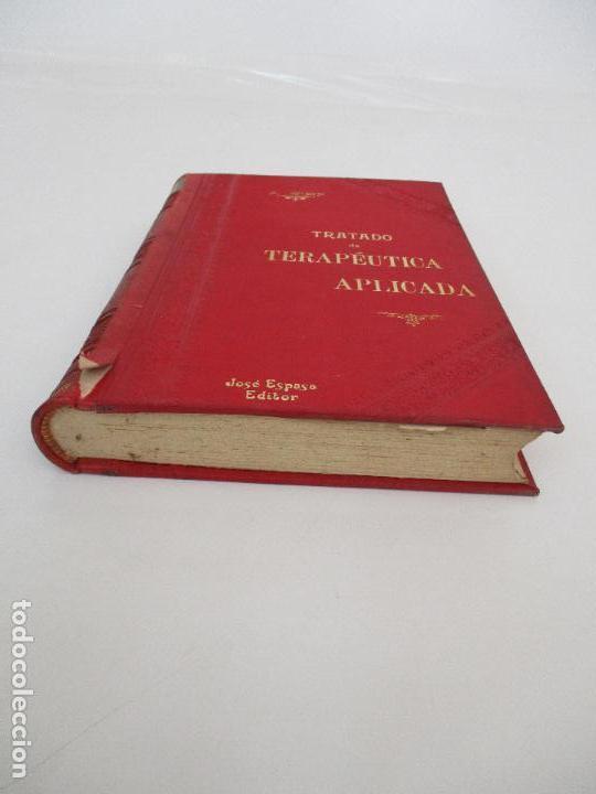 Libros antiguos: Tratado de Terapéutica Aplicada - Alberto Robin - José Espasa Editor - 8 Tomos - Completa - Año 1886 - Foto 19 - 206259152
