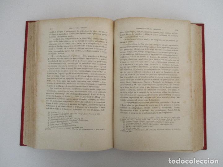 Libros antiguos: Tratado de Terapéutica Aplicada - Alberto Robin - José Espasa Editor - 8 Tomos - Completa - Año 1886 - Foto 48 - 206259152