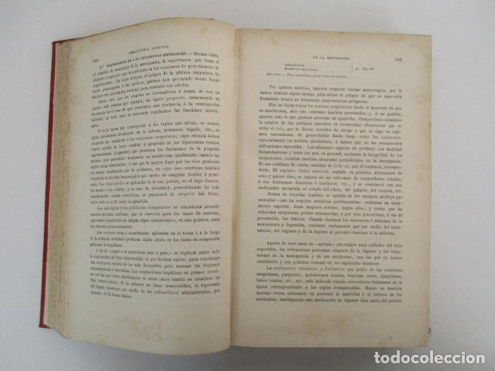 Libros antiguos: Tratado de Terapéutica Aplicada - Alberto Robin - José Espasa Editor - 8 Tomos - Completa - Año 1886 - Foto 29 - 206259152