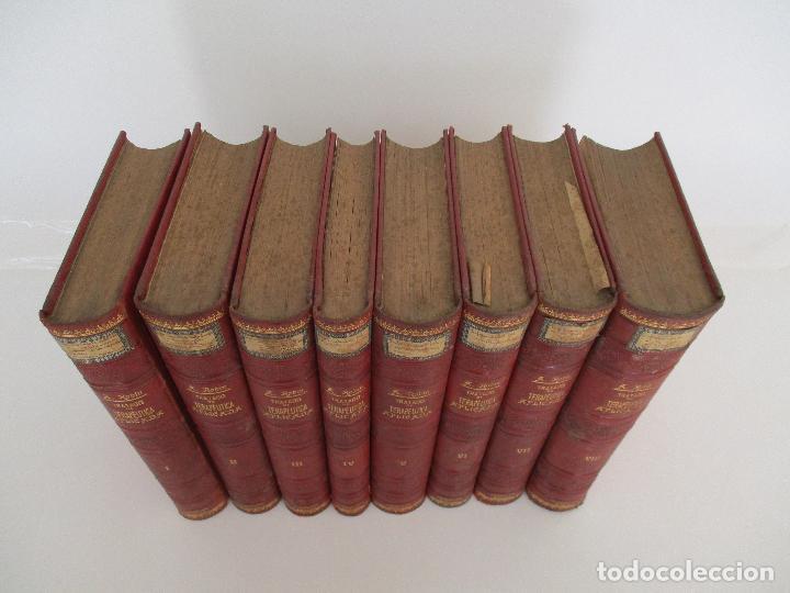 Libros antiguos: Tratado de Terapéutica Aplicada - Alberto Robin - José Espasa Editor - 8 Tomos - Completa - Año 1886 - Foto 36 - 206259152