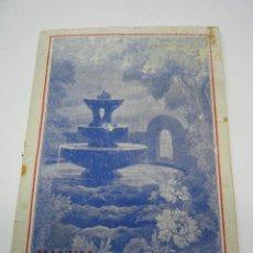 Libros antiguos: MANUAL DE HOMEOPATIA - FARMACIA HOMEOPATICA - J. BIS IMPRESOR BARCELONA. Lote 90470039