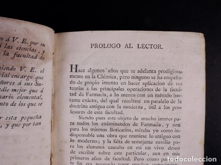 Libros antiguos: DICCIONARIO DE FARMACIA, TOMO PRIMERO, MADRID 1798 - Foto 5 - 90556225