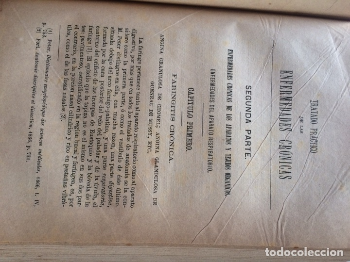 Libros antiguos: Durand Fardel-Enfermedades Crónicas (1878) - Foto 11 - 90686082