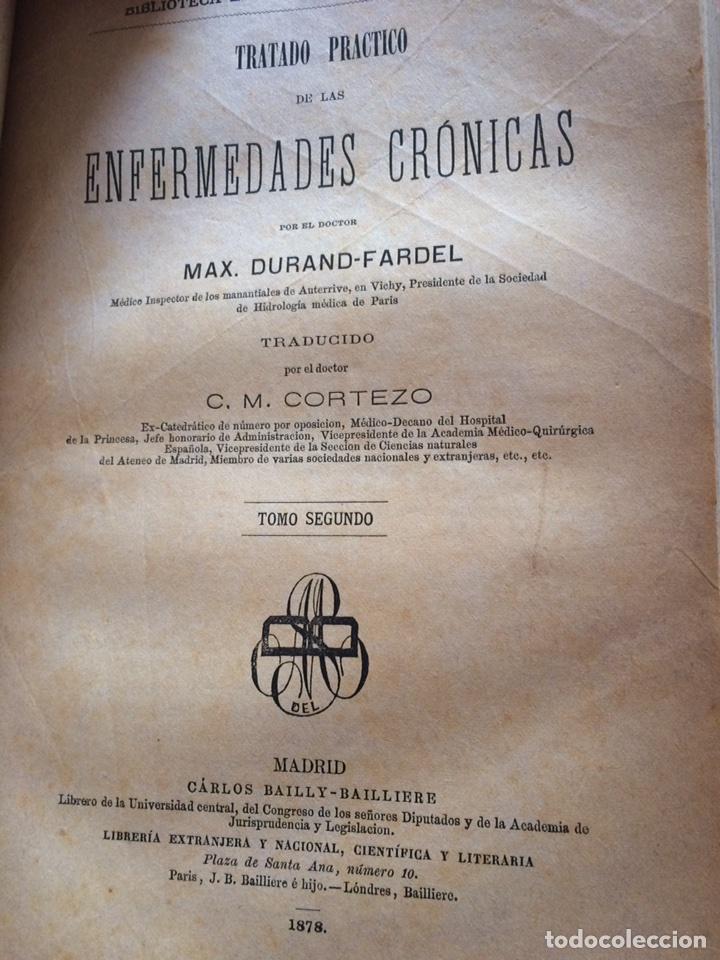 Libros antiguos: Durand Fardel-Enfermedades Crónicas (1878) - Foto 13 - 90686082