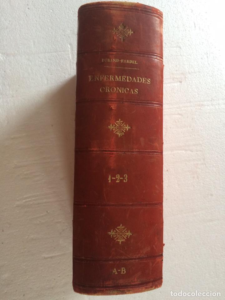 DURAND FARDEL-ENFERMEDADES CRÓNICAS (1878) (Libros Antiguos, Raros y Curiosos - Ciencias, Manuales y Oficios - Medicina, Farmacia y Salud)