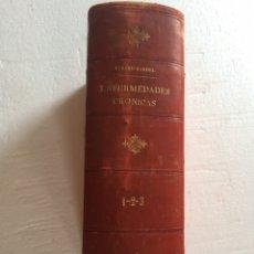 Libros antiguos: DURAND FARDEL-ENFERMEDADES CRÓNICAS (1878). Lote 90686082