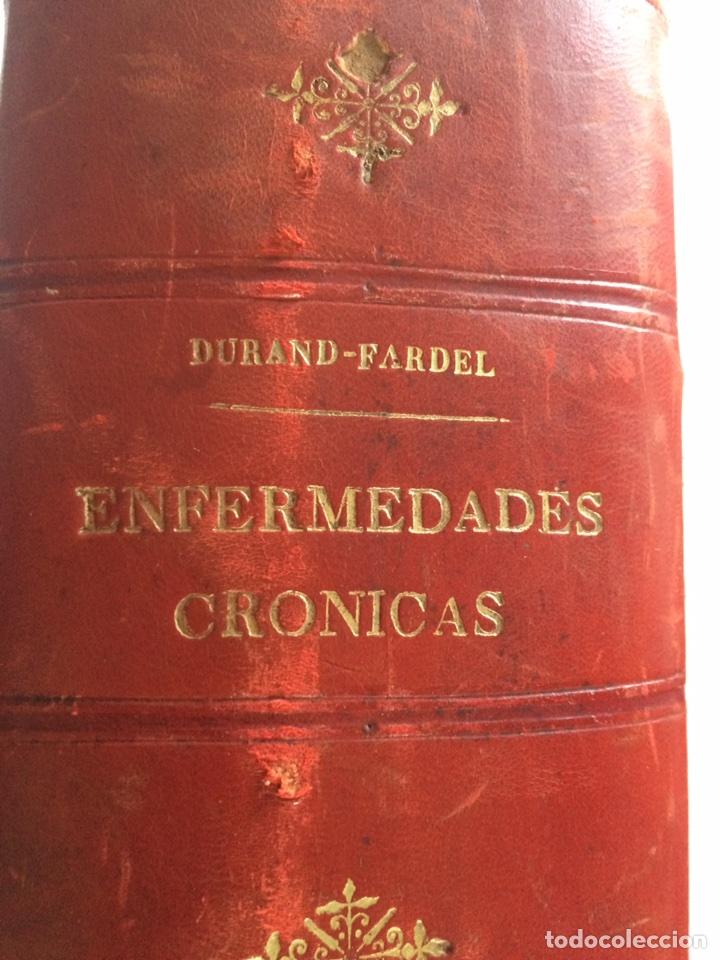 Libros antiguos: Durand Fardel-Enfermedades Crónicas (1878) - Foto 2 - 90686082