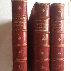 Libros antiguos: FORGUE ET RECLUS QUIRÚRGICA 3 TOMOS (1899). Lote 90686718