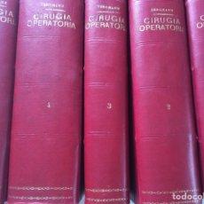 Libros antiguos: BERGMAN- CURUGIA OPERATORIA 4 TOMOS. Lote 90687095