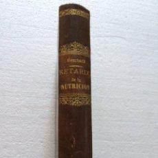 Libros antiguos: RETARDO DE LA NUTRICIÓN CH.BOUCHARD (1891). Lote 90774344