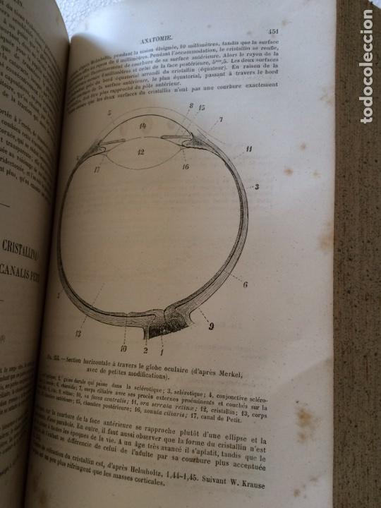 Libros antiguos: Manuel.Dophthaologie.Wecwer et Masselon (1889) - Foto 21 - 90819052