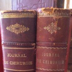 Libros antiguos: JOURNAL DE CHIRUGIE TOMOS 1Y2 (1914 Y 1915). Lote 90821432