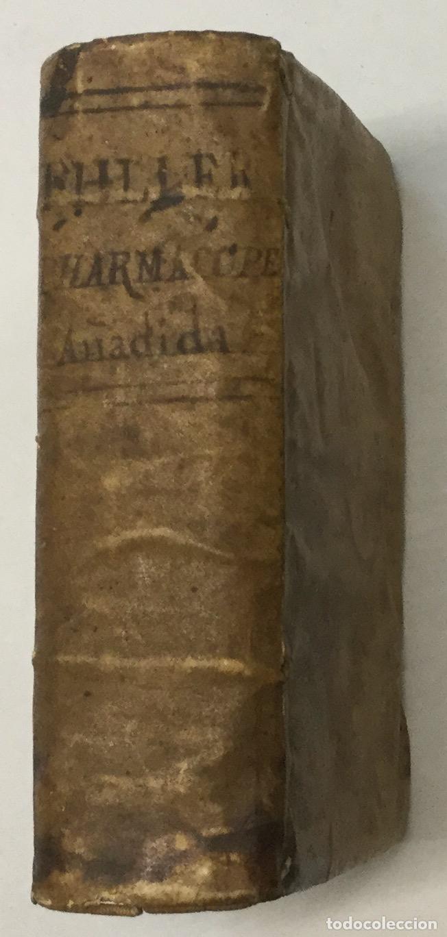 PHARMACOPOEIA EXTEMPORANEA. THOMAM FULLER. VENETIIS, 1753. + 3 OBRAS DE FARMACIA. (Libros Antiguos, Raros y Curiosos - Ciencias, Manuales y Oficios - Medicina, Farmacia y Salud)
