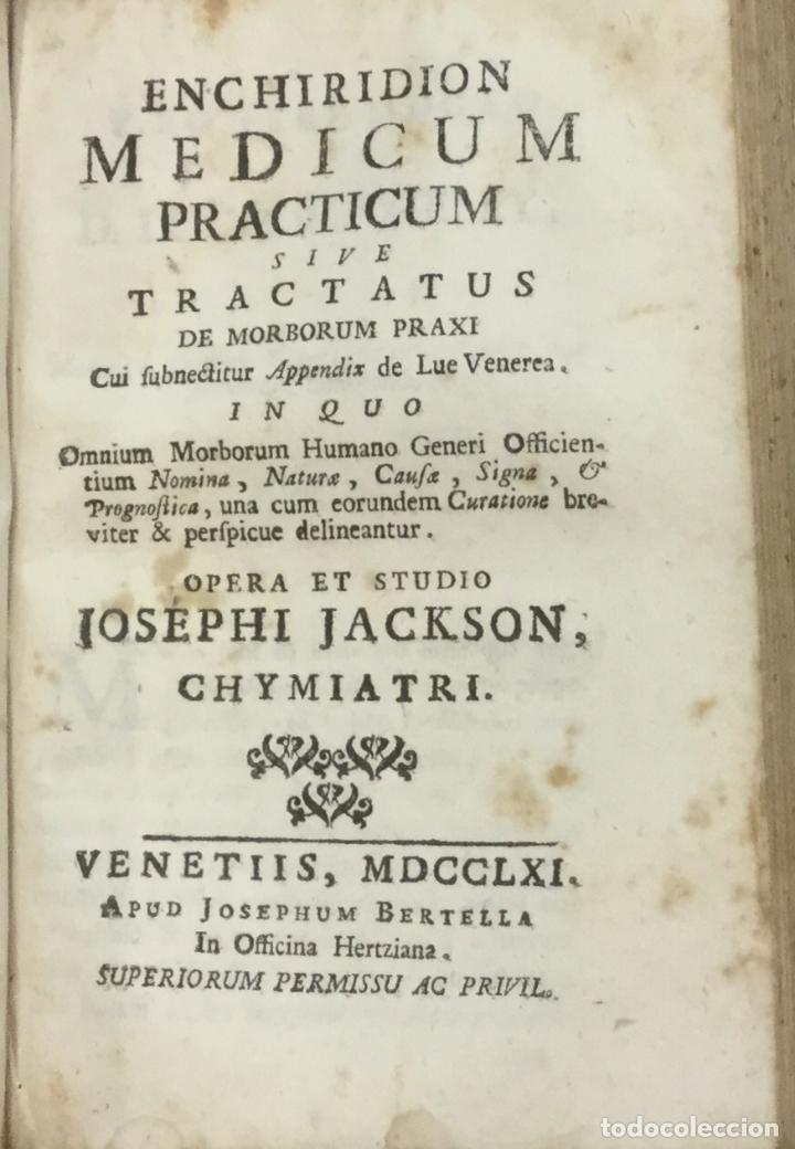 Libros antiguos: PHARMACOPOEIA EXTEMPORANEA. THOMAM FULLER. VENETIIS, 1753. + 3 OBRAS DE FARMACIA. - Foto 4 - 90952695