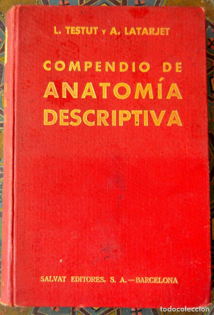 compendio de anatomia descriptiva l testut a latarjet