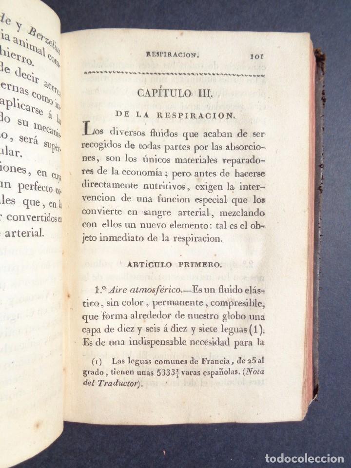 Libros antiguos: 1831 MANUAL DE LA FISIOLOGIA DEL HOMBRE - HUTIN - MEDICINA - psicologia - Foto 2 - 90981615