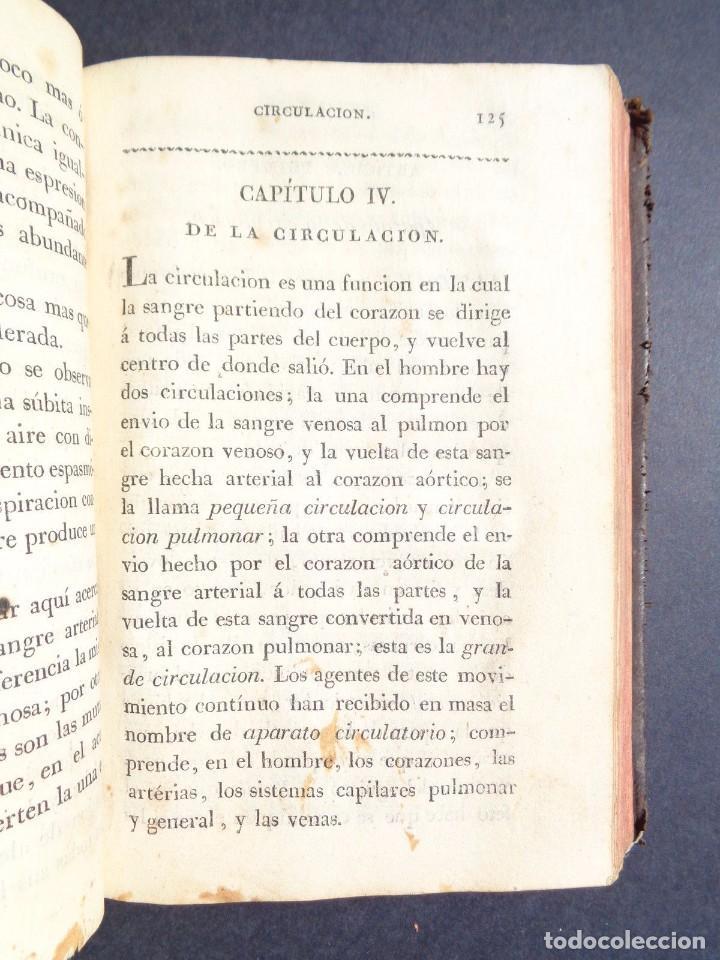 Libros antiguos: 1831 MANUAL DE LA FISIOLOGIA DEL HOMBRE - HUTIN - MEDICINA - psicologia - Foto 3 - 90981615