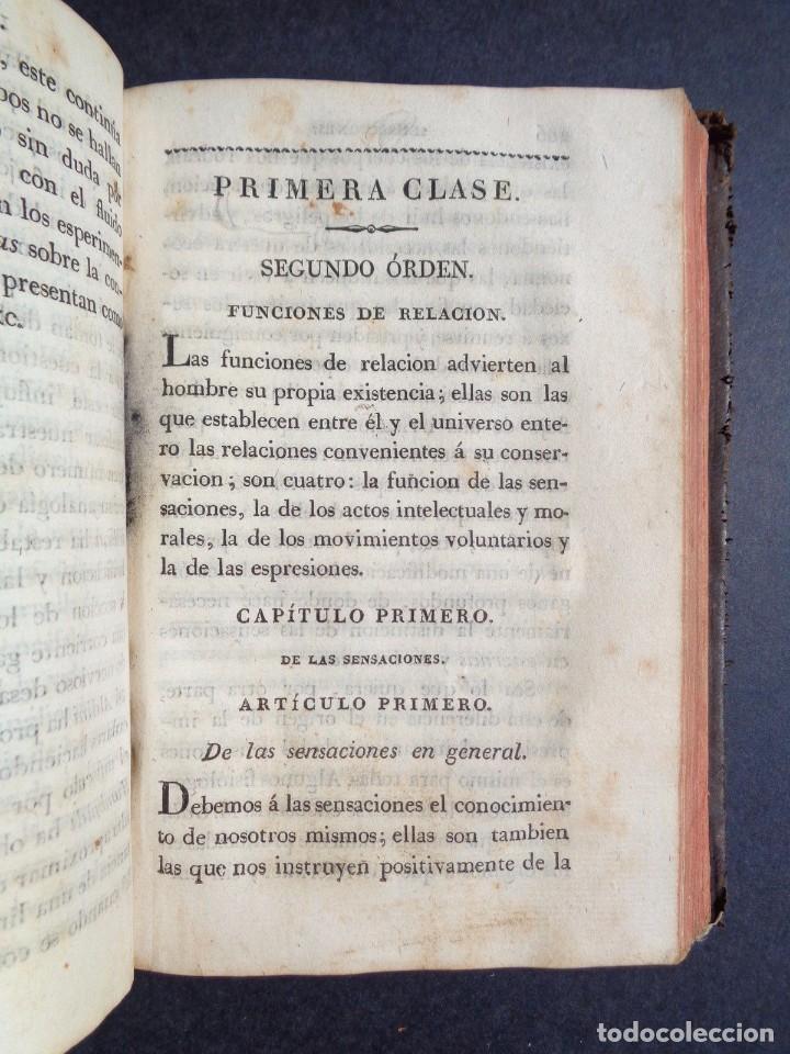 Libros antiguos: 1831 MANUAL DE LA FISIOLOGIA DEL HOMBRE - HUTIN - MEDICINA - psicologia - Foto 4 - 90981615