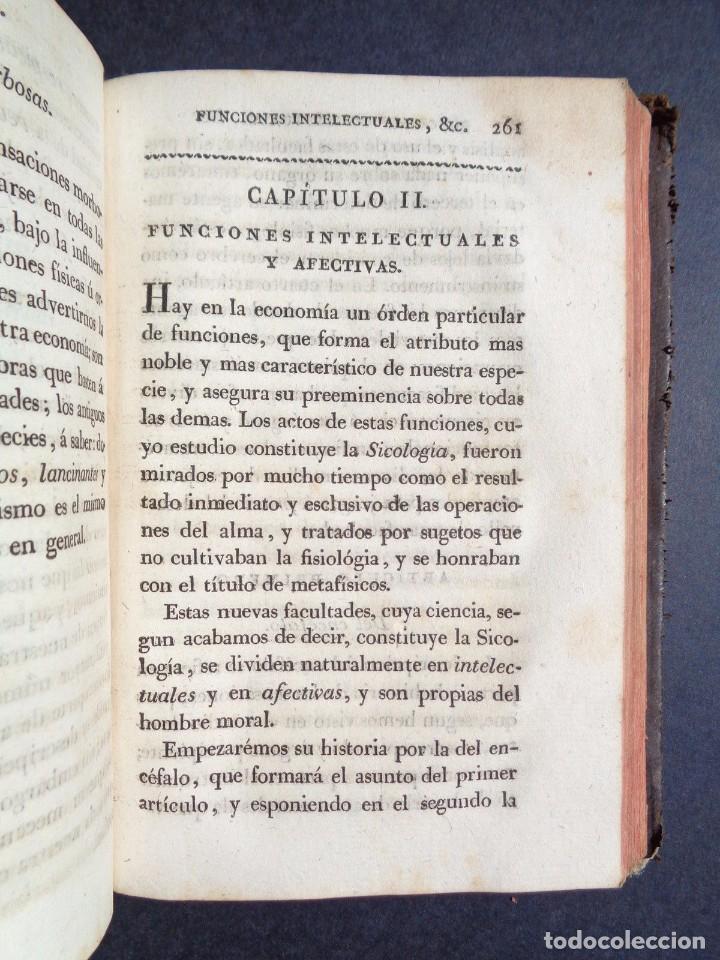 Libros antiguos: 1831 MANUAL DE LA FISIOLOGIA DEL HOMBRE - HUTIN - MEDICINA - psicologia - Foto 5 - 90981615