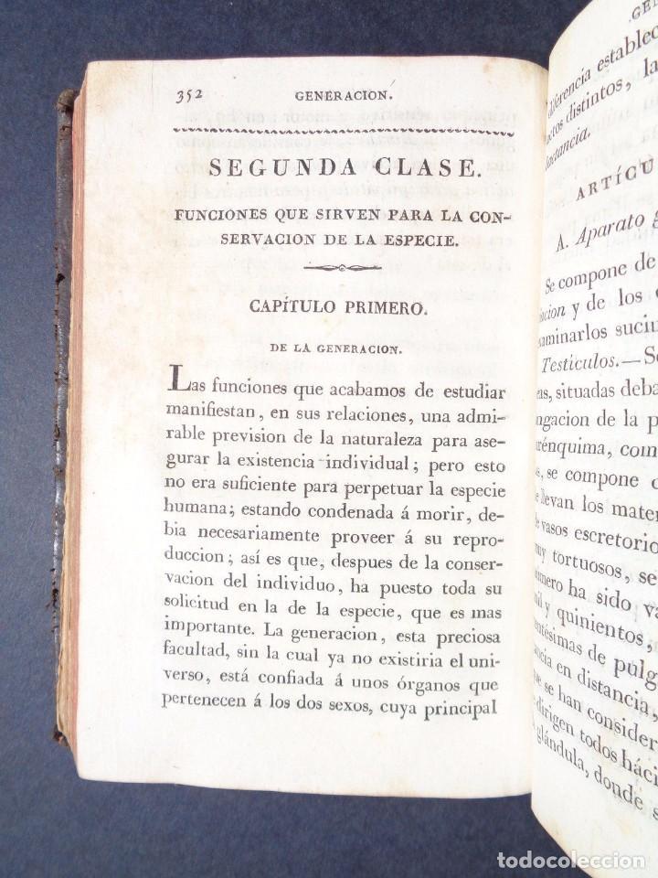 Libros antiguos: 1831 MANUAL DE LA FISIOLOGIA DEL HOMBRE - HUTIN - MEDICINA - psicologia - Foto 6 - 90981615