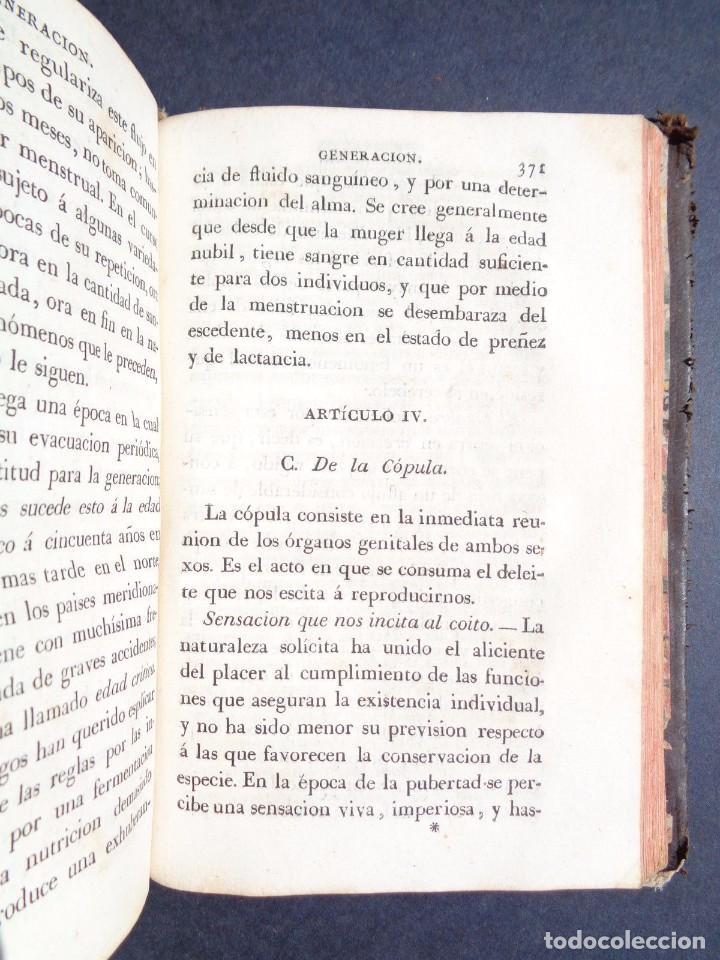 Libros antiguos: 1831 MANUAL DE LA FISIOLOGIA DEL HOMBRE - HUTIN - MEDICINA - psicologia - Foto 7 - 90981615