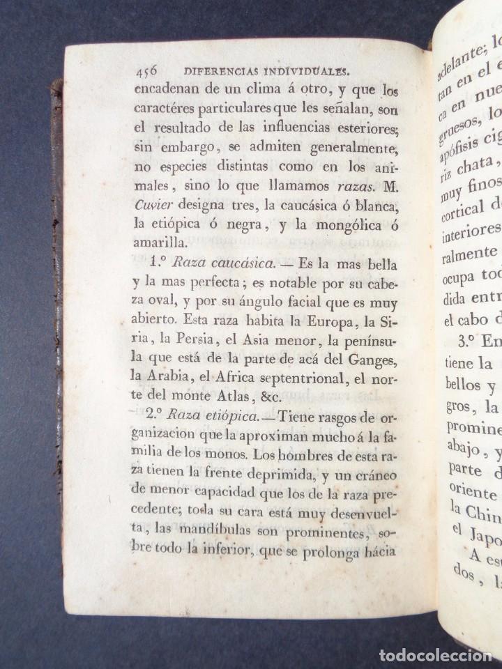 Libros antiguos: 1831 MANUAL DE LA FISIOLOGIA DEL HOMBRE - HUTIN - MEDICINA - psicologia - Foto 9 - 90981615