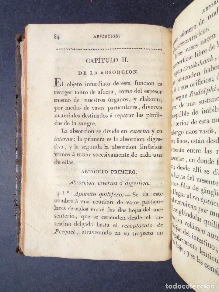 Libros antiguos: 1831 MANUAL DE LA FISIOLOGIA DEL HOMBRE - HUTIN - MEDICINA - psicologia - Foto 12 - 90981615