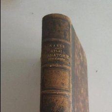Libros antiguos: PETIT ATLAS COMPLET D'ANATOMIE HUMAIN- 1867- J.MASSE. Lote 91024185