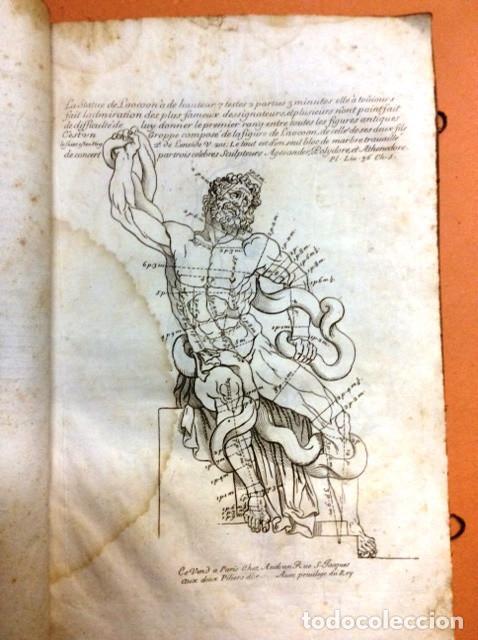 Libros antiguos: LES PROPORTIONS du CORPS HUMAIN - Foto 3 - 91296755