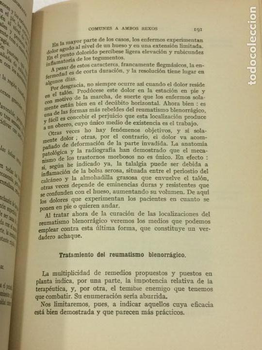 Libros antiguos: Enfermedades Blenorragicas de las vias Genitourinarias Dr.Alex Renault - Foto 7 - 91764409