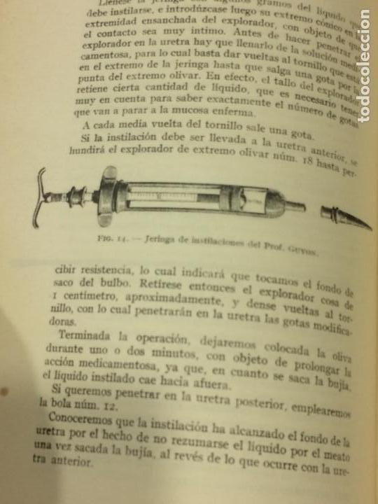 Libros antiguos: Enfermedades Blenorragicas de las vias Genitourinarias Dr.Alex Renault - Foto 10 - 91764409