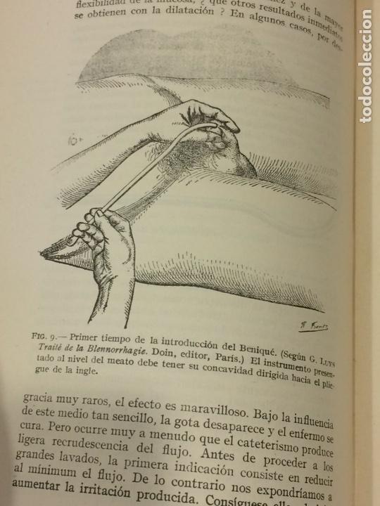 Libros antiguos: Enfermedades Blenorragicas de las vias Genitourinarias Dr.Alex Renault - Foto 11 - 91764409