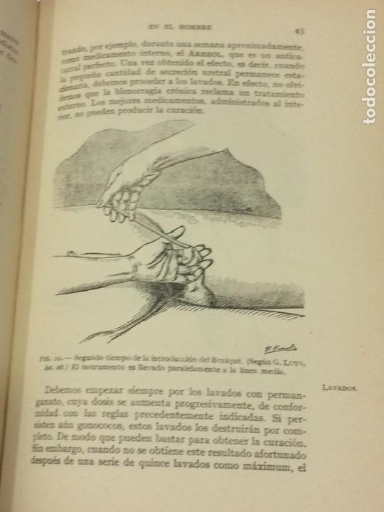 Libros antiguos: Enfermedades Blenorragicas de las vias Genitourinarias Dr.Alex Renault - Foto 12 - 91764409