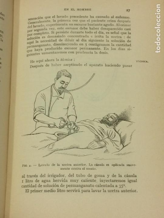 Libros antiguos: Enfermedades Blenorragicas de las vias Genitourinarias Dr.Alex Renault - Foto 13 - 91764409