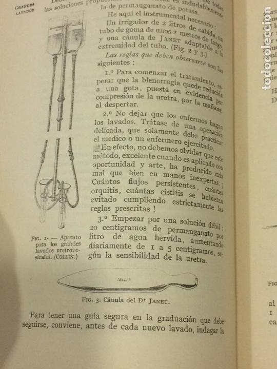 Libros antiguos: Enfermedades Blenorragicas de las vias Genitourinarias Dr.Alex Renault - Foto 14 - 91764409