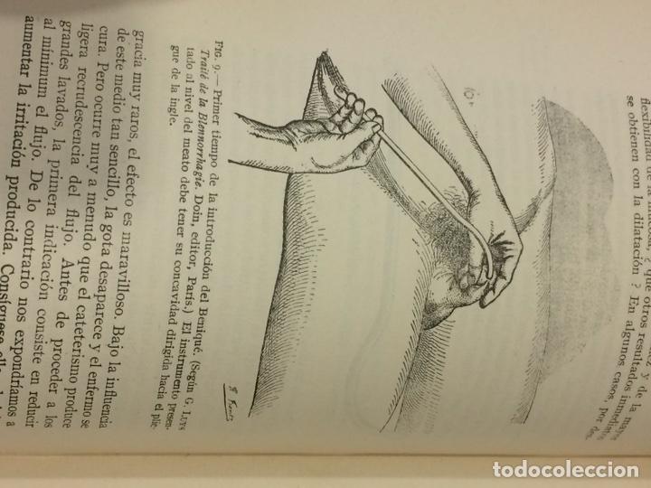 Libros antiguos: Enfermedades Blenorragicas de las vias Genitourinarias Dr.Alex Renault - Foto 26 - 91764409