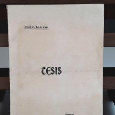 Libros antiguos: CONSIDERACIONES SOBRE PREÑEZ Y PARTO GEMELARES. JOSÉ C. LASCANO. IMP. MITRE. 1907.. Lote 92034935