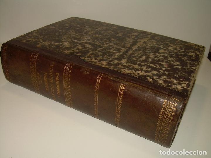 Libros antiguos: FARMACOLOGIA DE LOS MEDICAMENTOS - TERAPEUTICA - MATERIA MEDICA....AÑO..1.882 - Foto 3 - 92037880