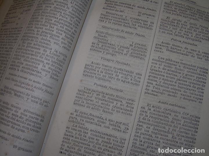 Libros antiguos: FARMACOLOGIA DE LOS MEDICAMENTOS - TERAPEUTICA - MATERIA MEDICA....AÑO..1.882 - Foto 6 - 92037880