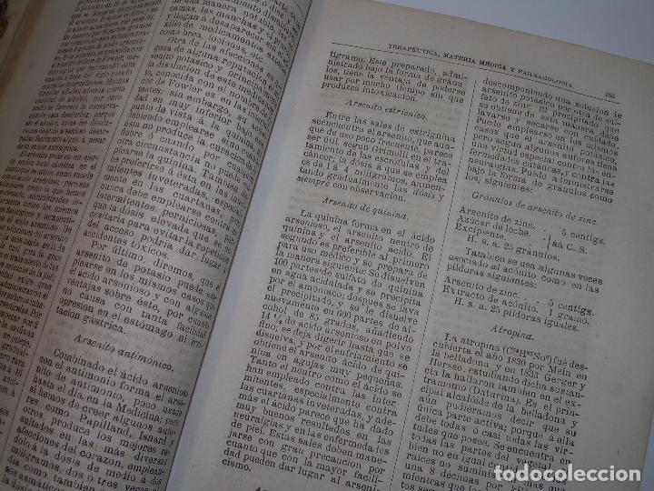 Libros antiguos: FARMACOLOGIA DE LOS MEDICAMENTOS - TERAPEUTICA - MATERIA MEDICA....AÑO..1.882 - Foto 8 - 92037880