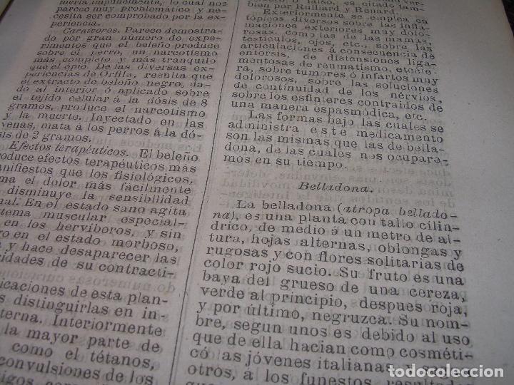 Libros antiguos: FARMACOLOGIA DE LOS MEDICAMENTOS - TERAPEUTICA - MATERIA MEDICA....AÑO..1.882 - Foto 9 - 92037880