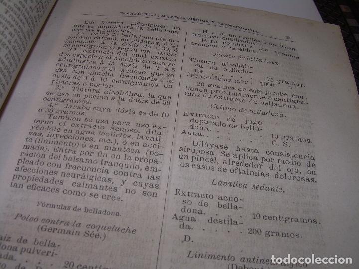 Libros antiguos: FARMACOLOGIA DE LOS MEDICAMENTOS - TERAPEUTICA - MATERIA MEDICA....AÑO..1.882 - Foto 10 - 92037880