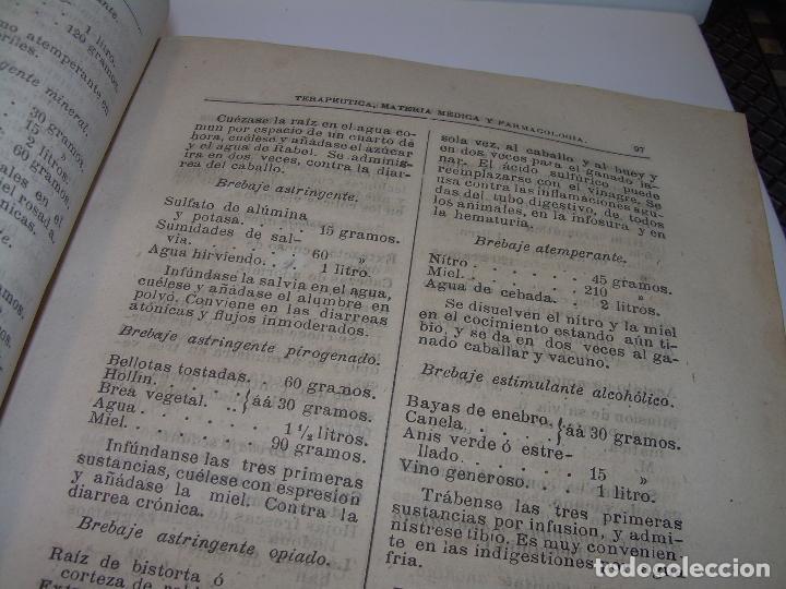 Libros antiguos: FARMACOLOGIA DE LOS MEDICAMENTOS - TERAPEUTICA - MATERIA MEDICA....AÑO..1.882 - Foto 11 - 92037880