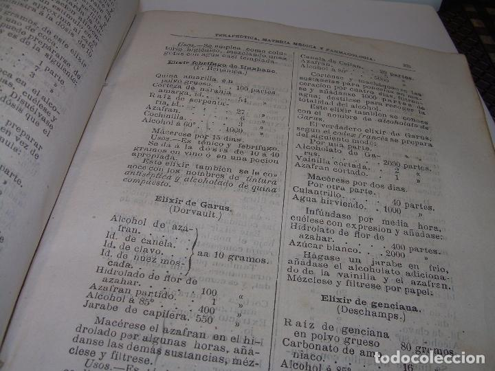 Libros antiguos: FARMACOLOGIA DE LOS MEDICAMENTOS - TERAPEUTICA - MATERIA MEDICA....AÑO..1.882 - Foto 12 - 92037880