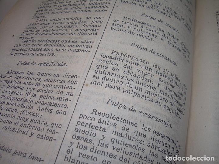 Libros antiguos: FARMACOLOGIA DE LOS MEDICAMENTOS - TERAPEUTICA - MATERIA MEDICA....AÑO..1.882 - Foto 13 - 92037880