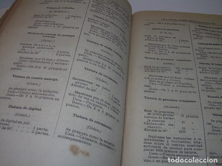 Libros antiguos: FARMACOLOGIA DE LOS MEDICAMENTOS - TERAPEUTICA - MATERIA MEDICA....AÑO..1.882 - Foto 14 - 92037880