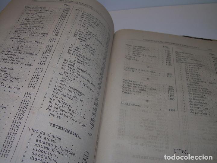 Libros antiguos: FARMACOLOGIA DE LOS MEDICAMENTOS - TERAPEUTICA - MATERIA MEDICA....AÑO..1.882 - Foto 21 - 92037880