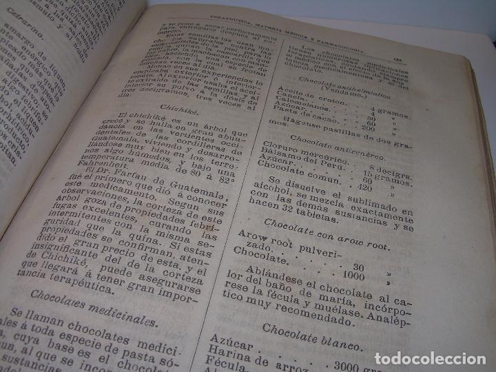 Libros antiguos: FARMACOLOGIA DE LOS MEDICAMENTOS - TERAPEUTICA - MATERIA MEDICA....AÑO..1.882 - Foto 22 - 92037880